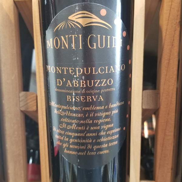Monti Guidi Montepulciano 750ml
