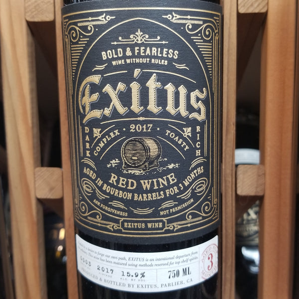 Exitus Bourbon Barrel Aged Red Blend 750ml