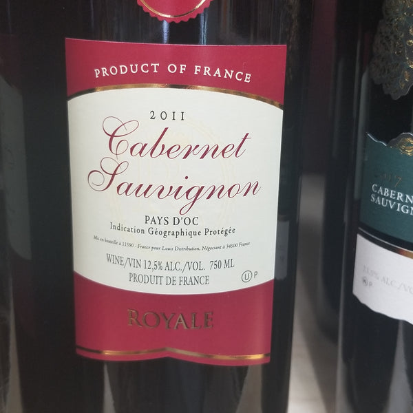 Royale Cabernet (Kosher for Passover)