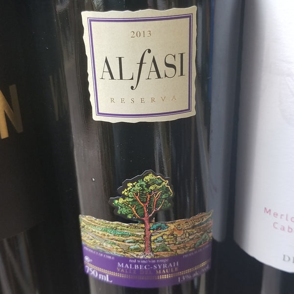 Alfasi Malbec/Syrah 750ml (Kosher for Passover)