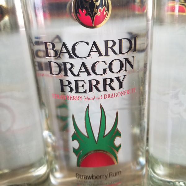 Bacardi Dragon Berry Rum 1.0L