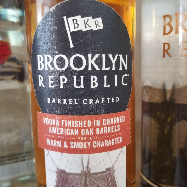 Brooklyn Vodka, Bourbon Finish