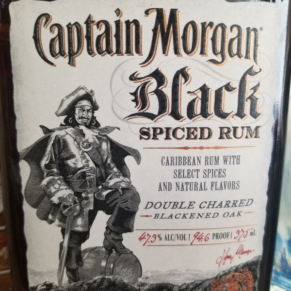 Capt Morgan Black 375Ml