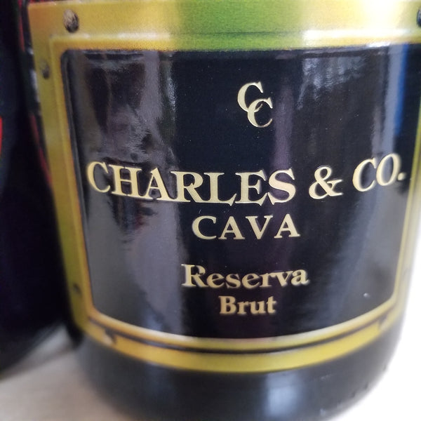 Charles & Co Brut Cava 750ml (Customer Favorite)