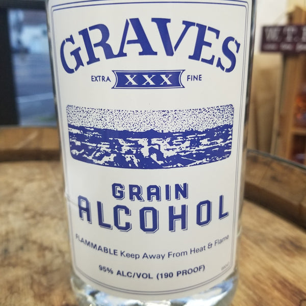 Graves Grain Alcohol 1.75L (Better than Everclear)