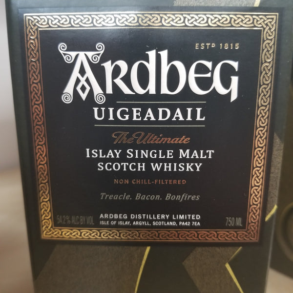 Ardbeg Uigeadail Single Malt Scotch 750ml