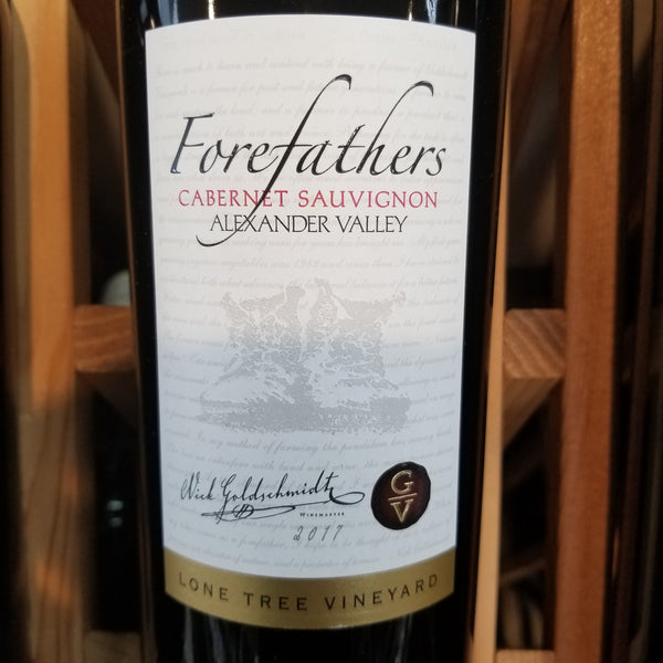 Forefathers Cabernet Sauvignon (Better than Jordan) 750ml
