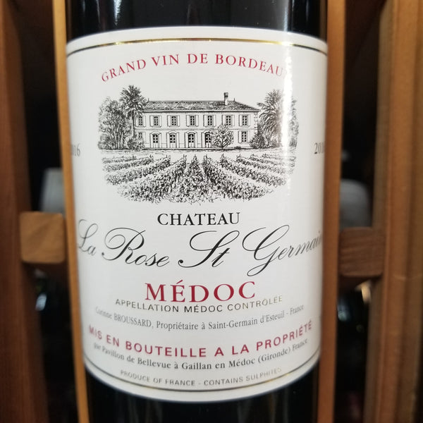 La Rose St Germain Medoc Bordeaux 750ml