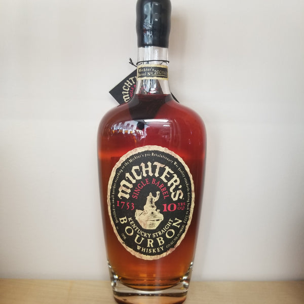 Michter's 10 Year Old Single Barrel Bourbon 750ml