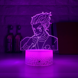 Hisoka Crack White Base Night Light