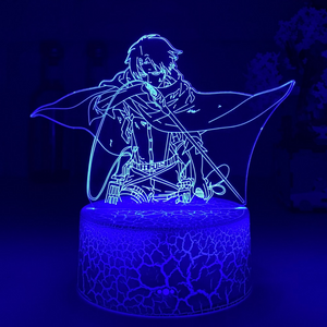Levi Ackermann Crack White Base Night Light
