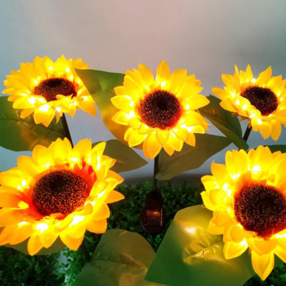 Sunflower Solar Light