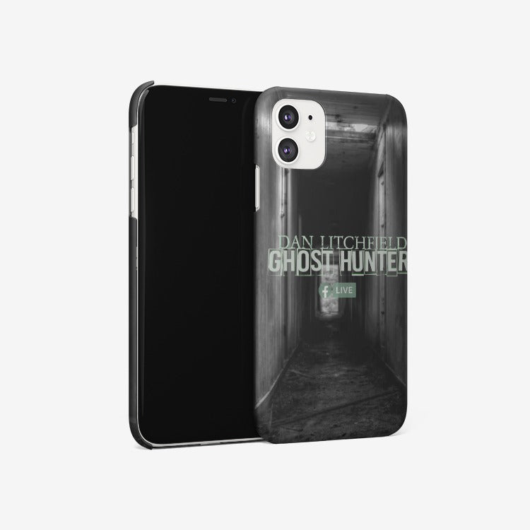 Dan Litchfield Ghost Hunter Iphone 11 case - Spooked Clothing