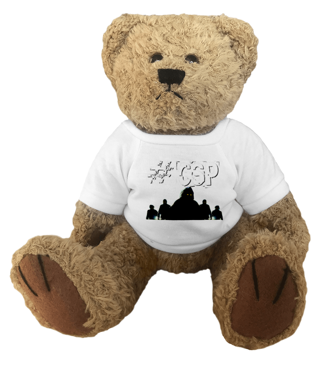 #CSP Ghost Silhouette Teddy Bear - Spooked Clothing