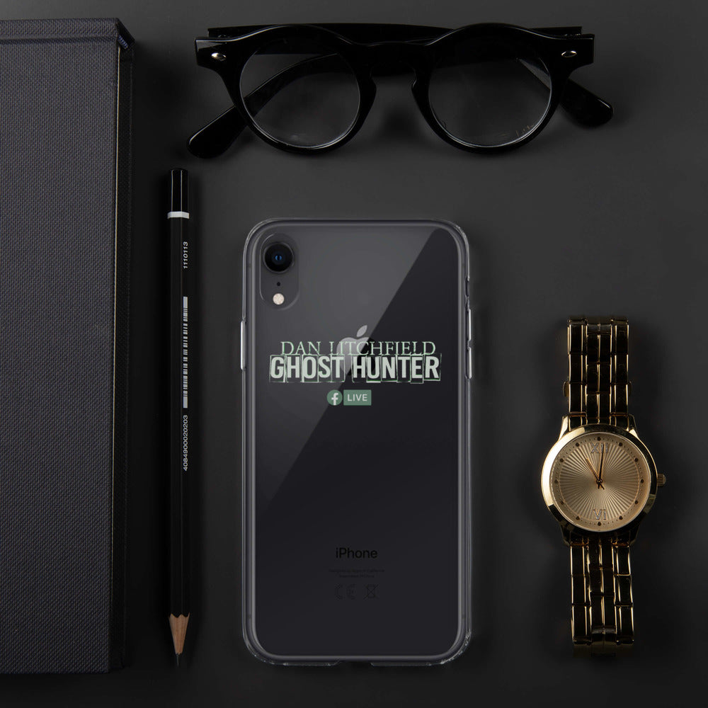 Dan Litchfield Ghost Hunter iPhone Case - Spooked Clothing