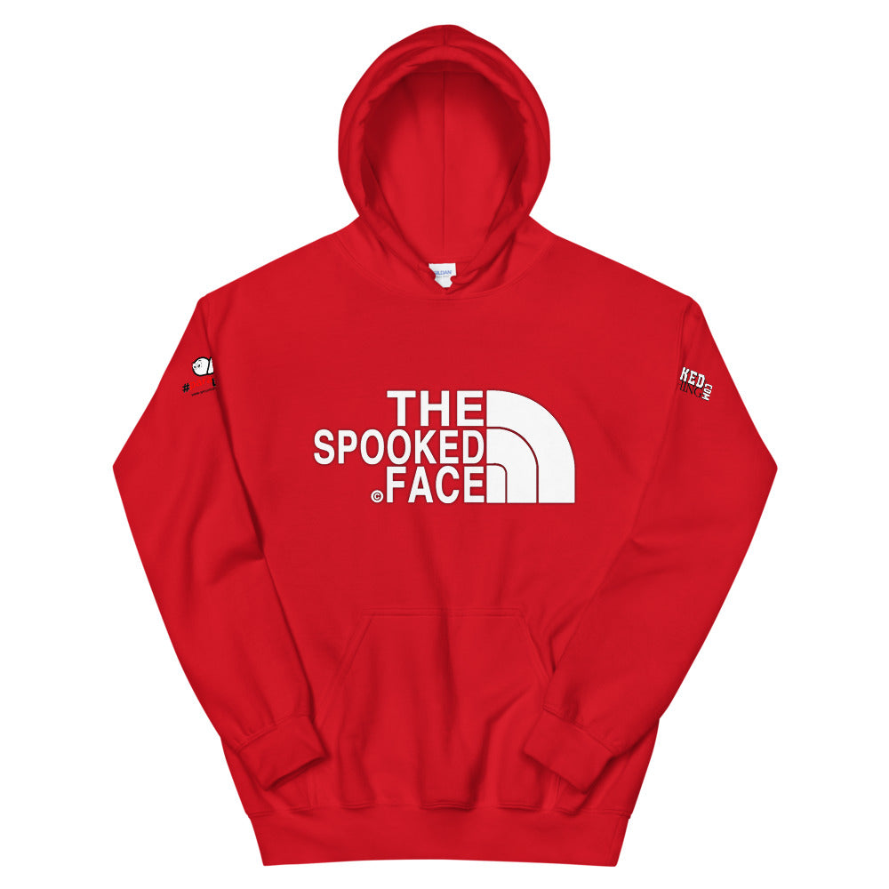 The Spooked face Unisex Hoodie - Spooked Clothing