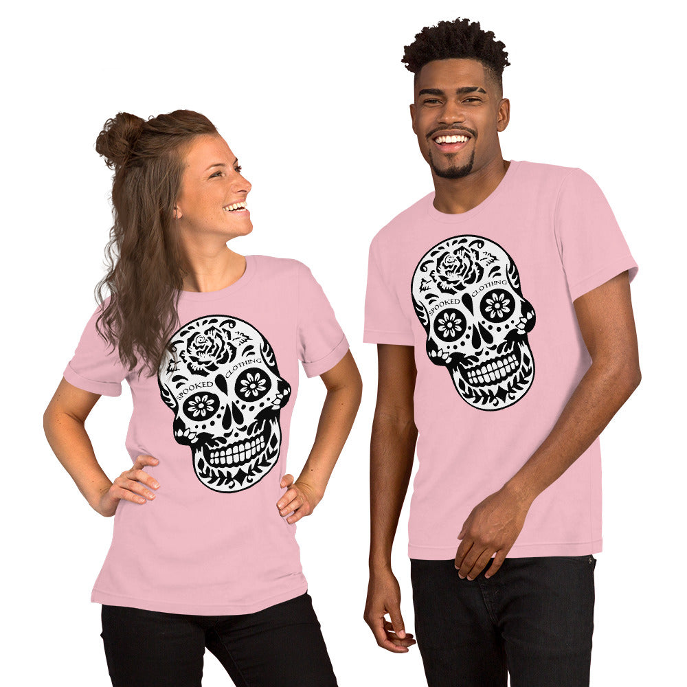 Spooked Day Of The Dead Short-Sleeve Unisex T-Shirt - Spooked Clothing