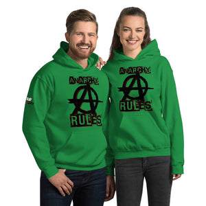 Spooked Anarchy Rules Unisex Hoodie - Spooked Clothing
