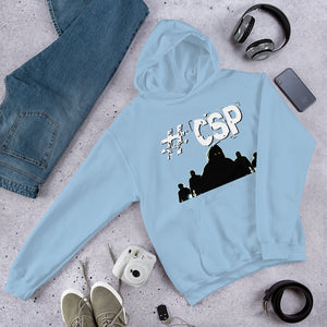 #CSP Ghost Silhouette Unisex Hoodie - Spooked Clothing