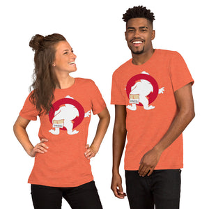 Spooked Character Short-Sleeve Unisex T-Shirt - Spooked Clothing