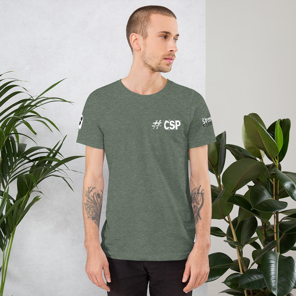 CSP Team Short-Sleeve Unisex T-Shirt - Spooked Clothing