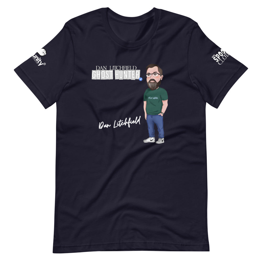Dan Litchfield Ghost Hunter Signature Short-Sleeve Unisex T-Shirt - Spooked Clothing