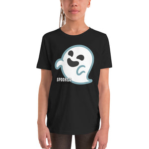 Spooked Ghost Youth Short Sleeve T-Shirt - Spooked Clothing