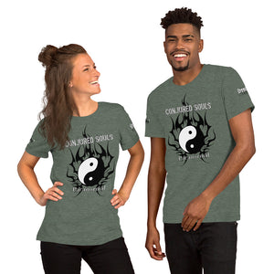 #CSP Tribal Ying Yang Short-Sleeve Unisex T-Shirt - Spooked Clothing