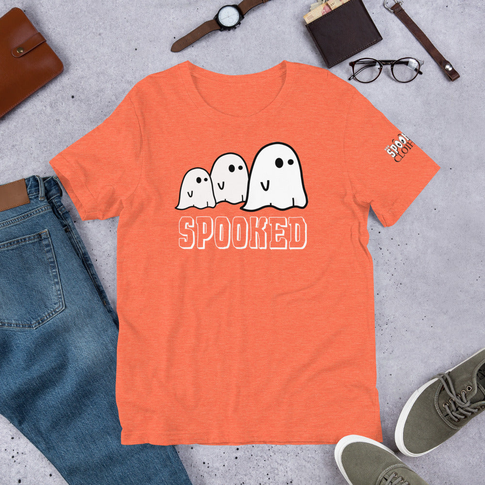 Spooked Family Short-Sleeve Unisex T-Shirt - Spooked Clothing