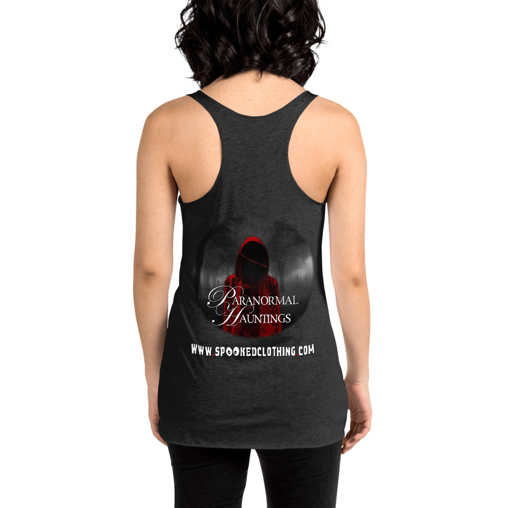 Paranormal Hauntings Team Women's Racerback Tank - Spooked Clothing