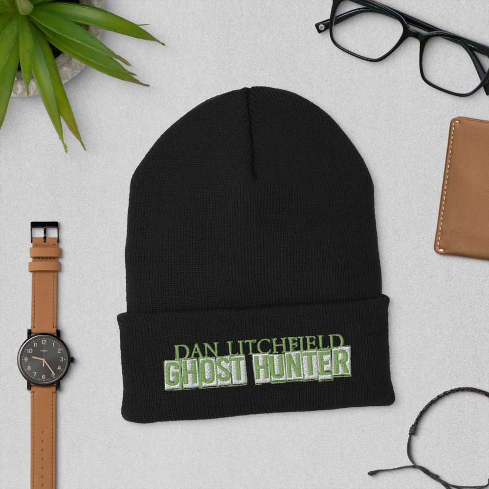 Dan Litchfield Ghost Hunter Cuffed Beanie - Spooked Clothing