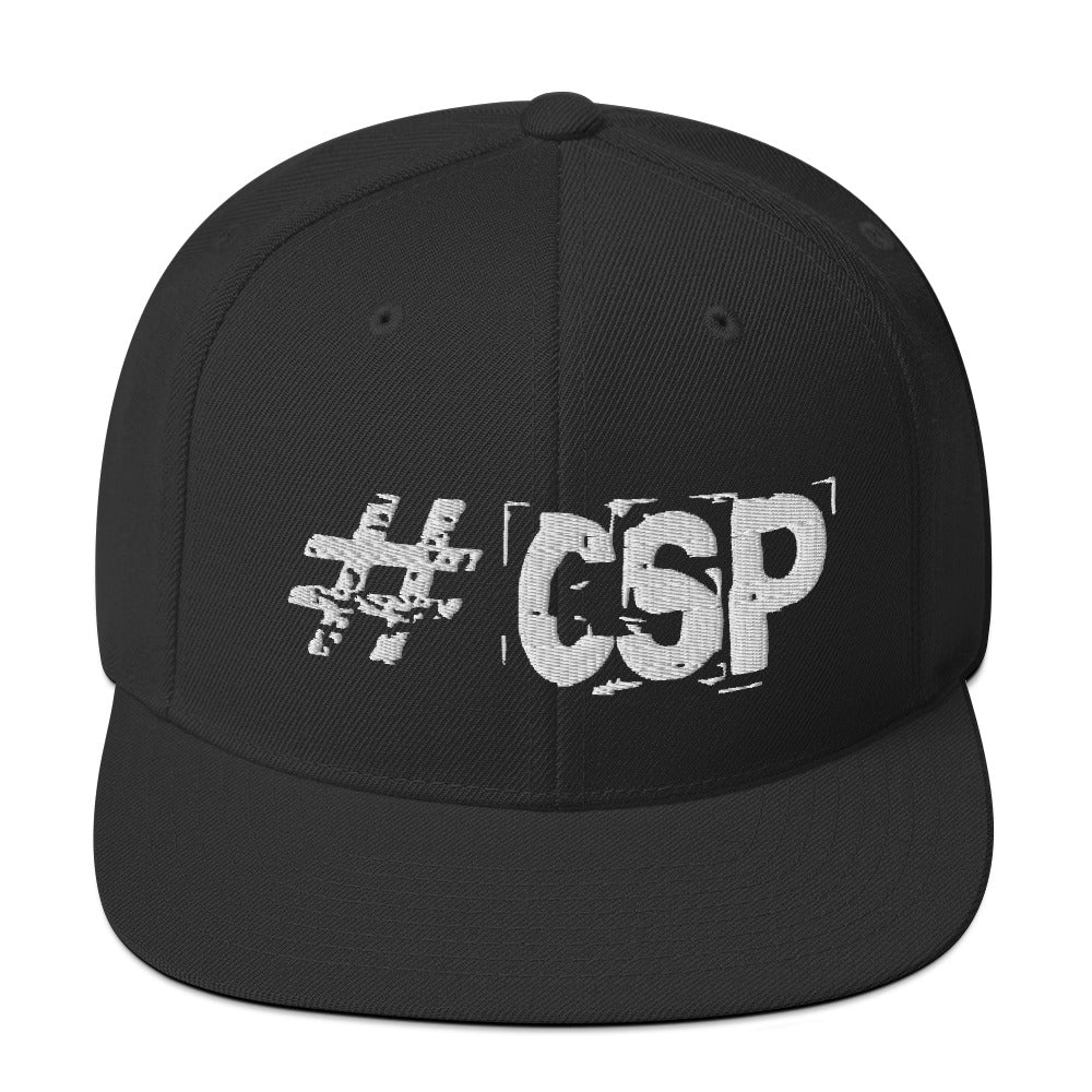 #CSP Snapback Hat - Spooked Clothing