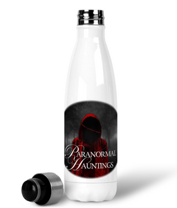 Paranormal Hauntings Premium Stainless Steel Water Bottle - Spooked Clothing