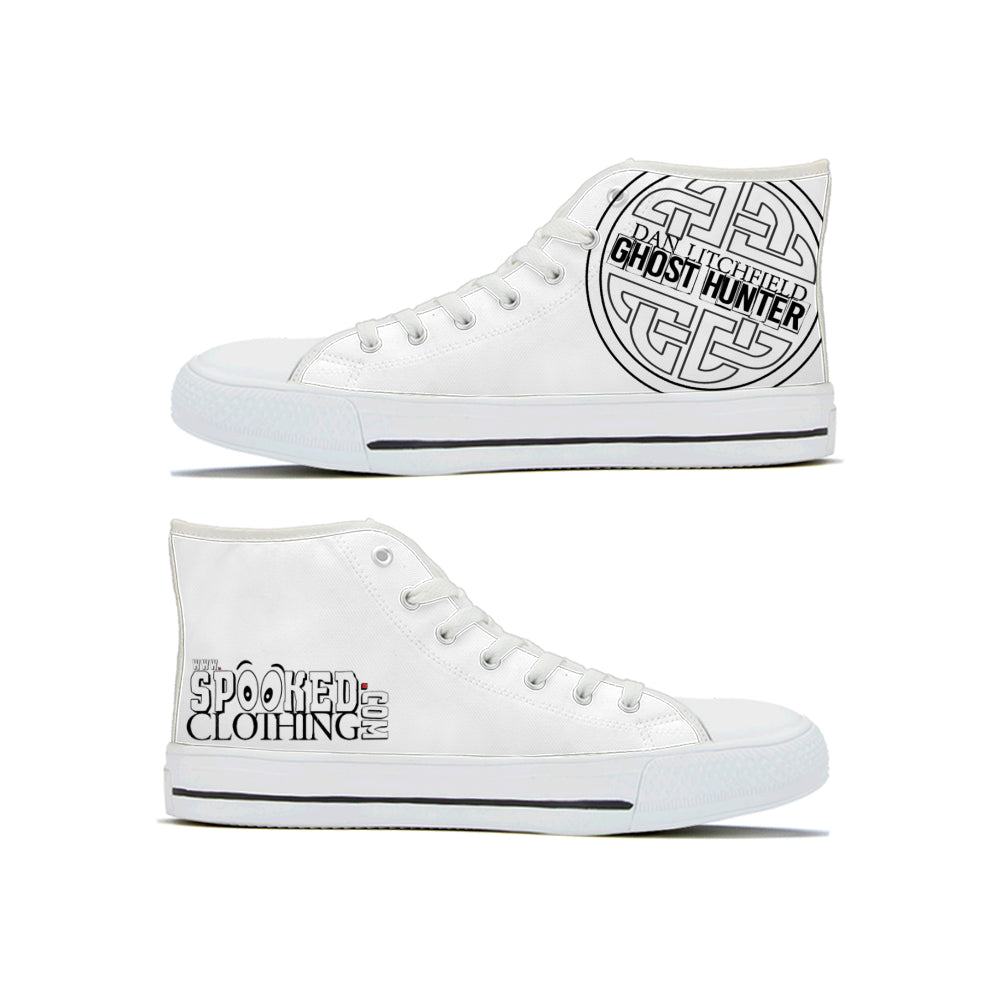 Dan Litchfield Ghost Hunter High Tops - Spooked Clothing
