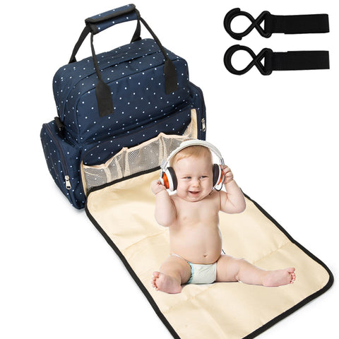 NEW Baby Diaper Bag Backpack Bags For Mummy Stroller Organizer