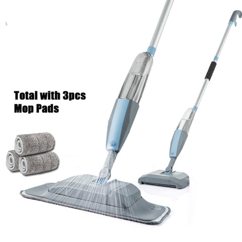 Mop 3 in 1 Spray Mop And Sweeper Machine Vacuum Cleaner
