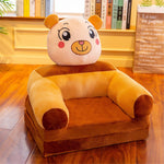 Baby Kids Only Cover NO Filling Cartoon Crown Seat
