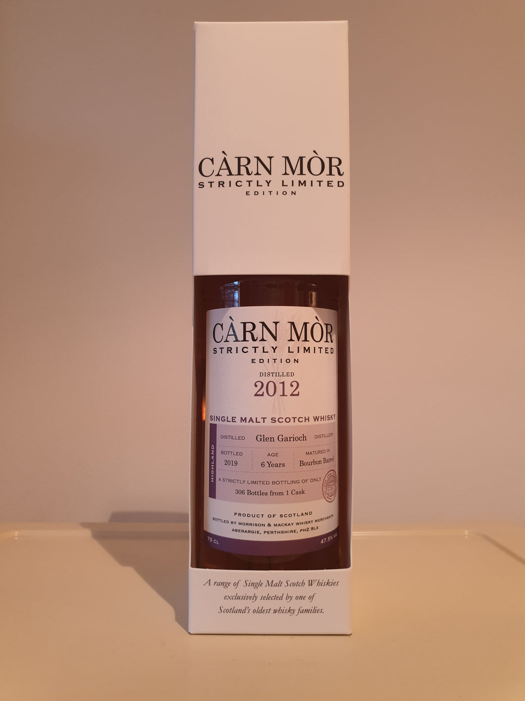 Càrn Mòr Strictly Limited Glen Garioch 6 Year Old 70cl