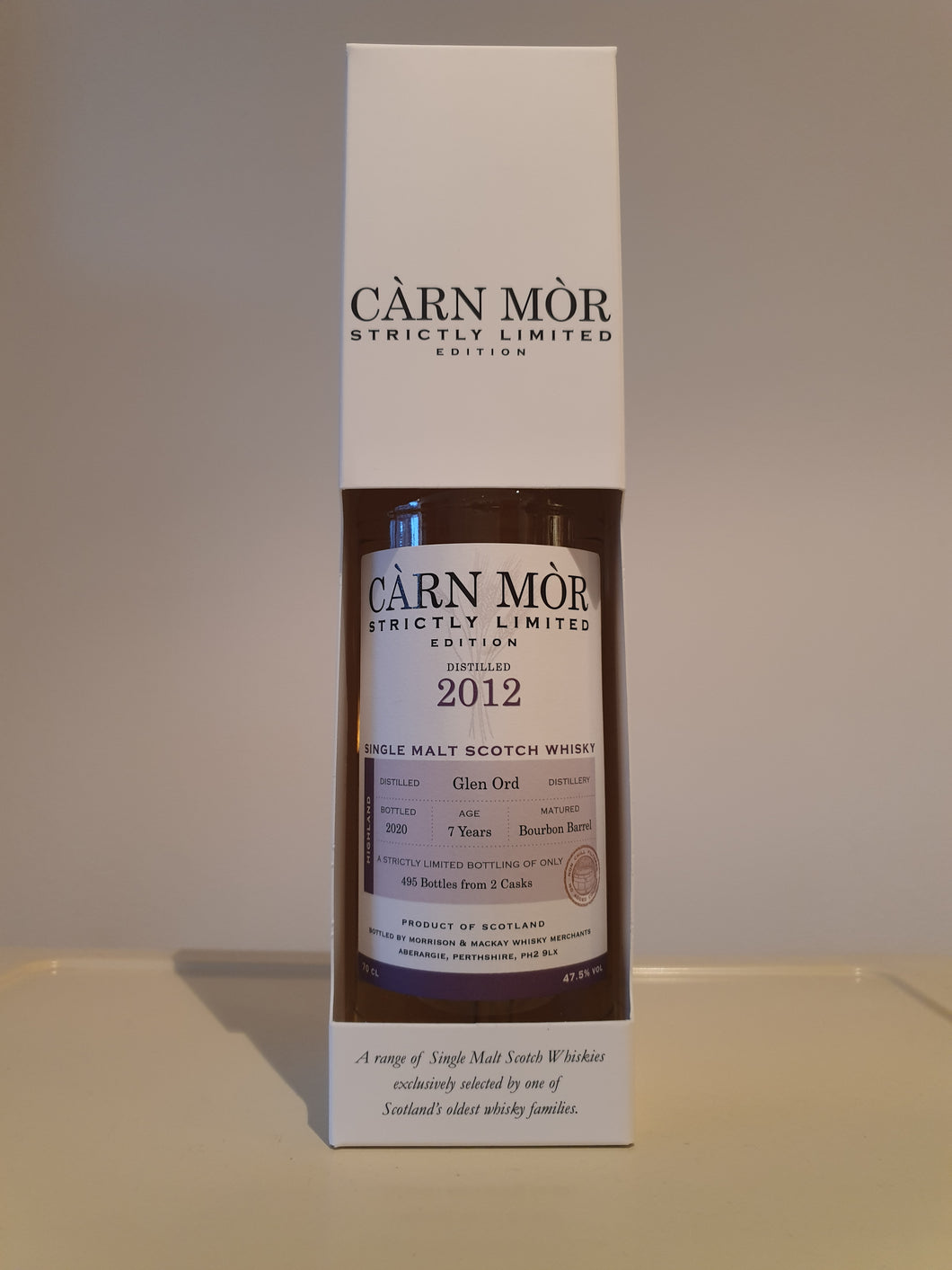 Càrn Mòr Strictly Limited Glen Ord 7 Year Old 70cl