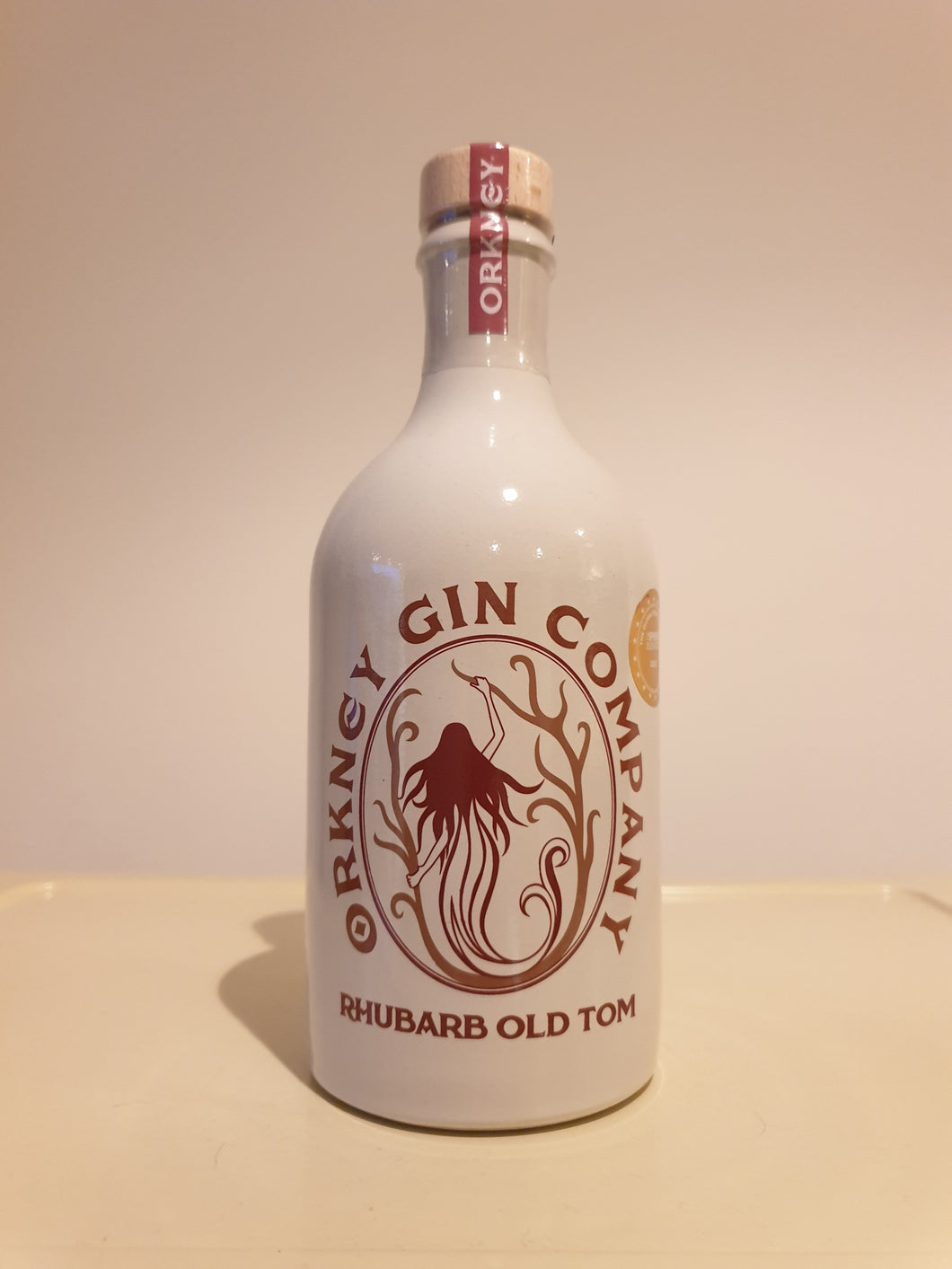 Orkney Gin Co. Rhubarb Old Tom Gin 50cl