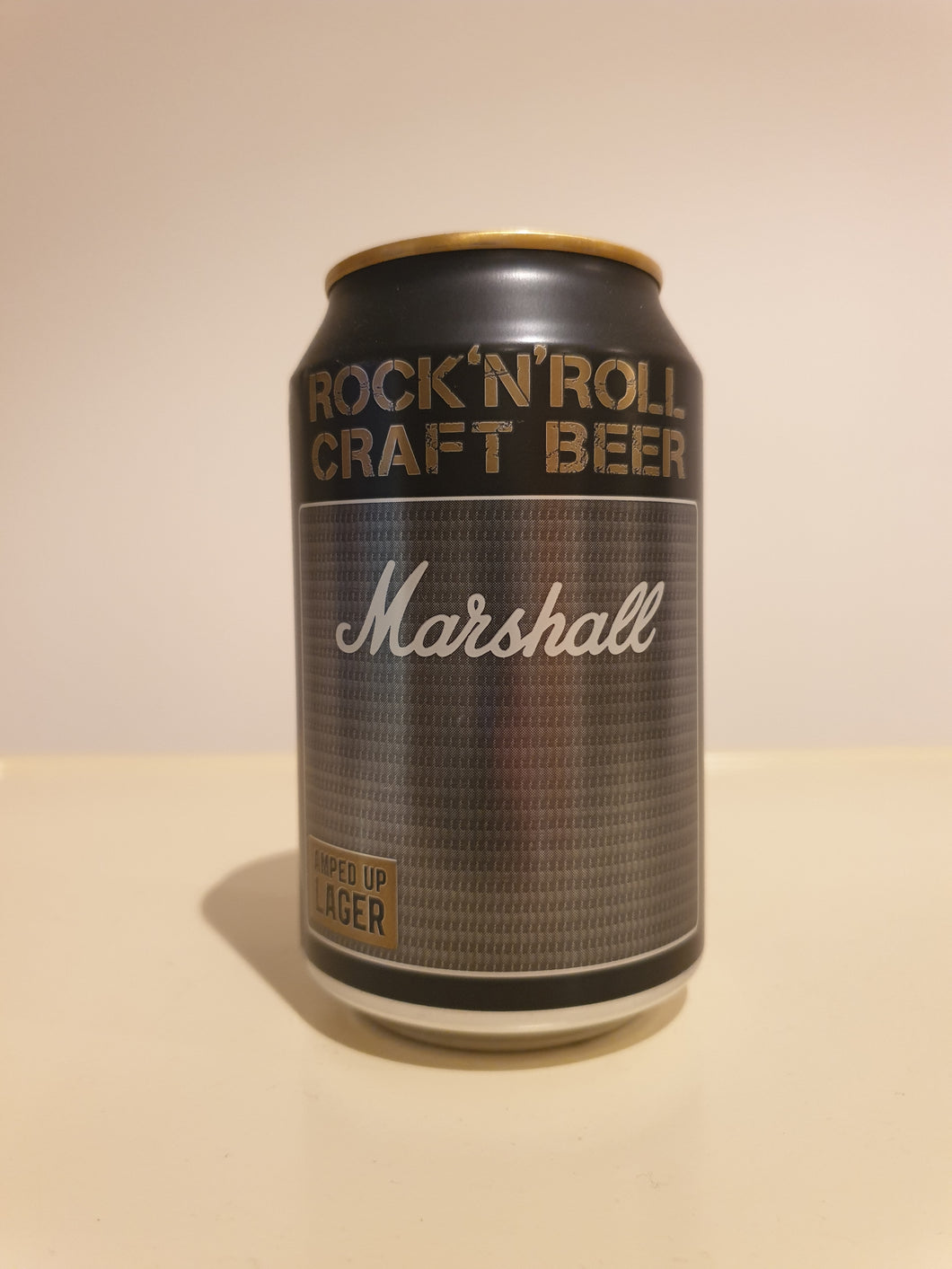 Marshall Amped Up Lager Can