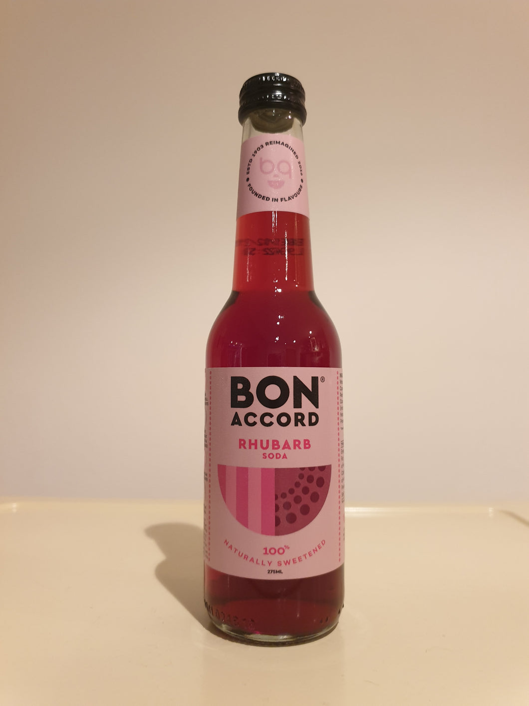 Bon Accord Rhubarb Soda 275ml