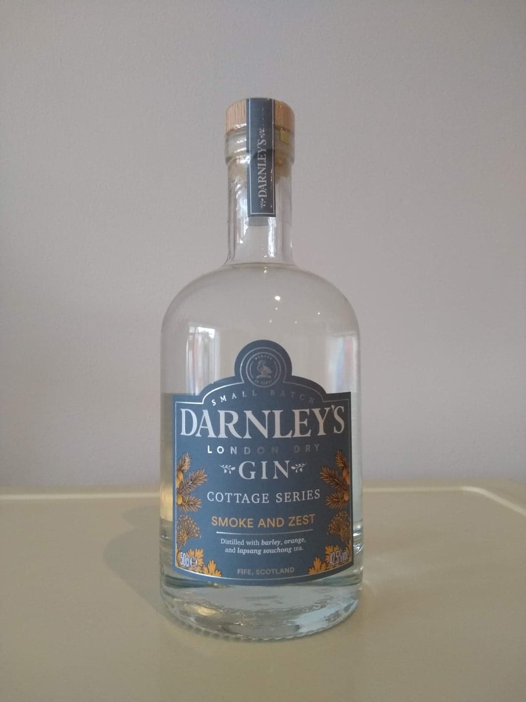 Darnley's Smoke & Zest Cottage Series Gin 50cl