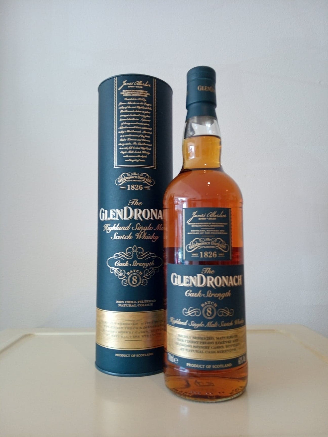 GlenDronach Cask Strength Batch 8 70cl
