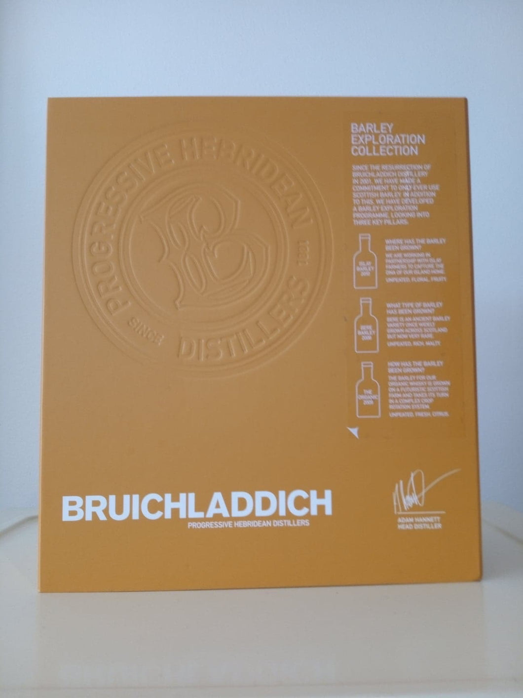 Bruichladdich Barley Explorer Gift Pack 3x20cl