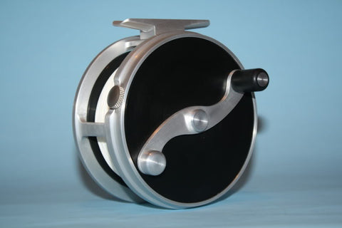 Fly Reel On a 1960s Lathe