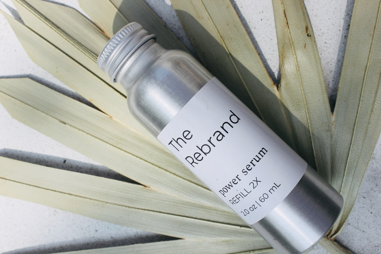 Rebrand Skincare Refillable Beauty Packaging