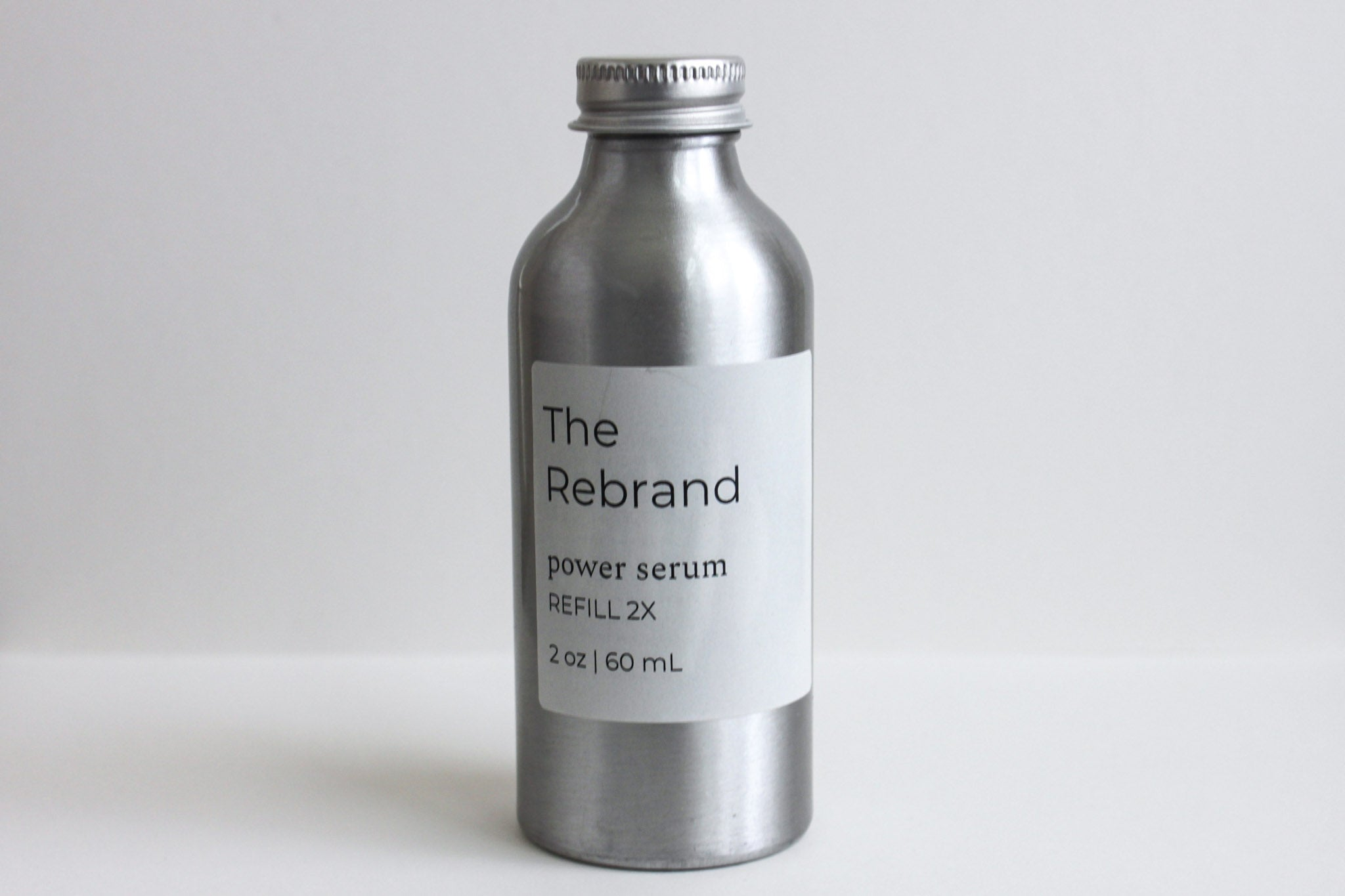 The Rebrand Sustainable Skincare Refillable Vitamin C Serum