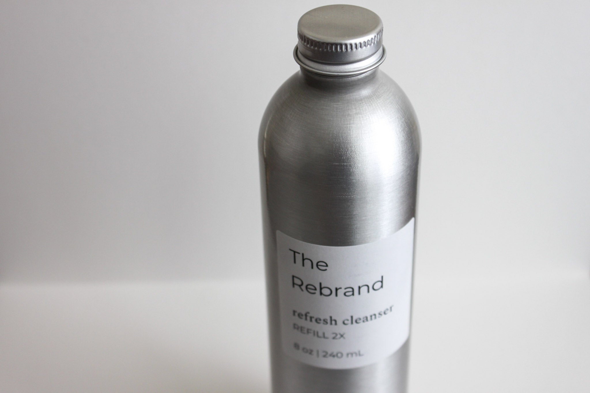 The Rebrand Sustainable Skincare Refillable Micellar Cleanser