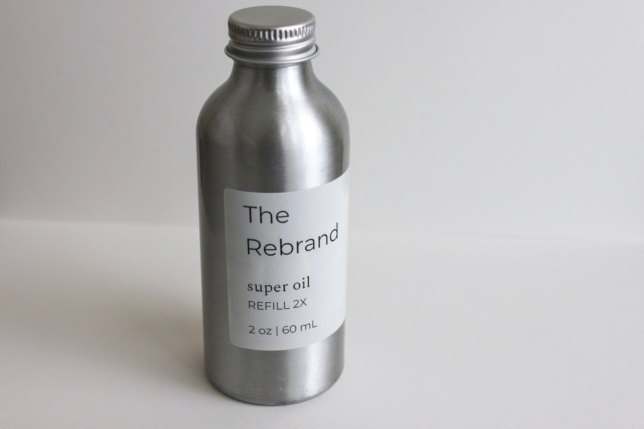 The Rebrand Sustainable Skincare Refillable Organic Facial Oil